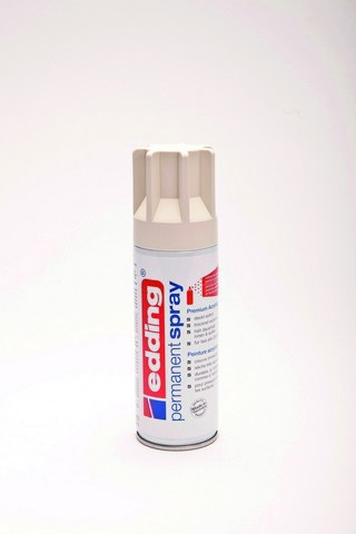 edding-5200 permanent spray crèmewit  mat 200ml