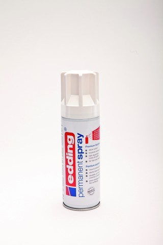 edding-5200 permanent spray verkeerswit  mat 200ml