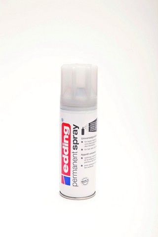 edding-5200 permanent spray universele primer grijs   200ml