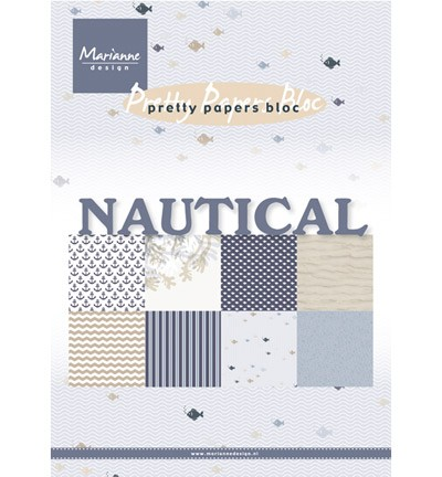 pk9133 pretty paper bloc nautical