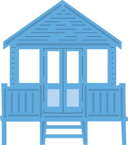 lr0422 Marianne D Creatable Tiny`s Beach house