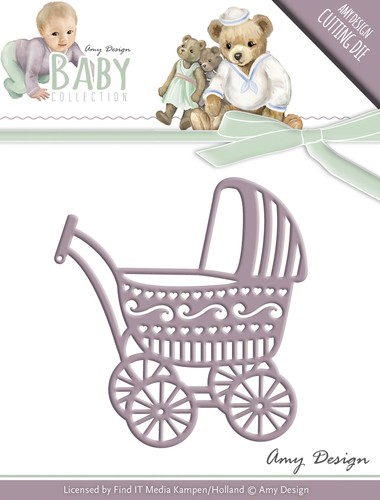 Die - Amy Design - Baby Collection - Baby Carriage