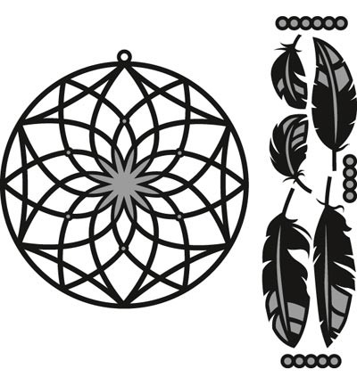cr1373 Marianne D Craftable Dreamcatcher