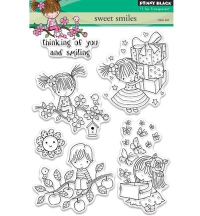 Transparent Stamp Sweet smiles