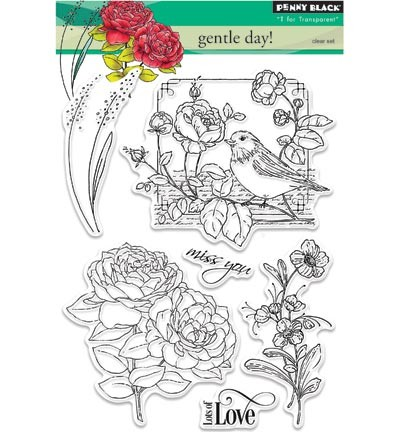 Transparent Stamp Gentle day