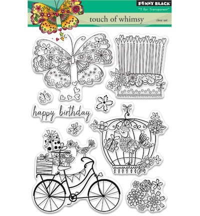Transparent Stamp Touch of whimsy