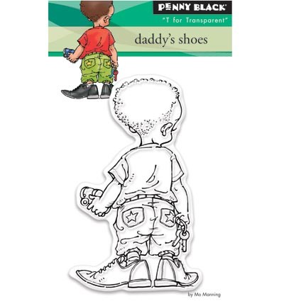 Transparant Stamp Sets Daddy`s shoes