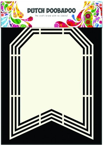 Dutch Doobadoo Dutch Shape Art frames vlag A5