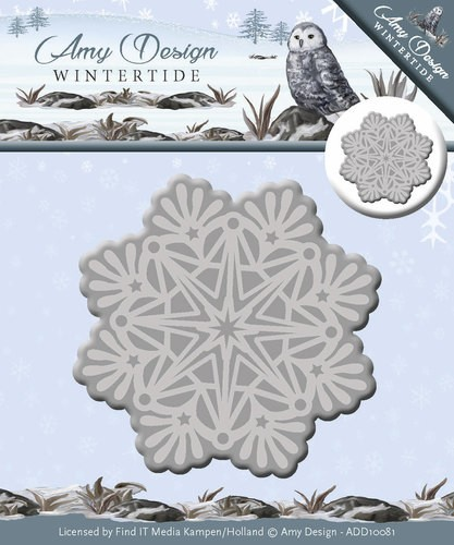 Die - Amy Design - Wintertide - Ice Crystal