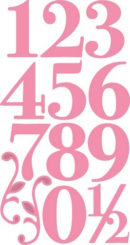 col1418 Marianne D Collectable Elegant numbers