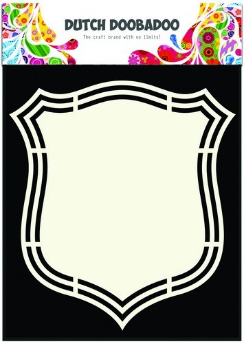 Dutch Doobadoo Dutch Shape Art frames schild 2 A5