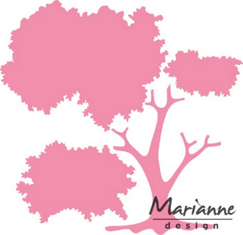 col1424 Marianne D Collectable Bouw je boom  9,5x20 cm