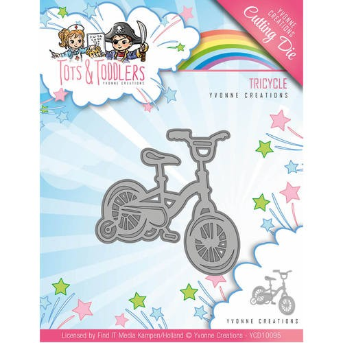 Die - Yvonne Creations - Tots and Toddlers - Tricycle
