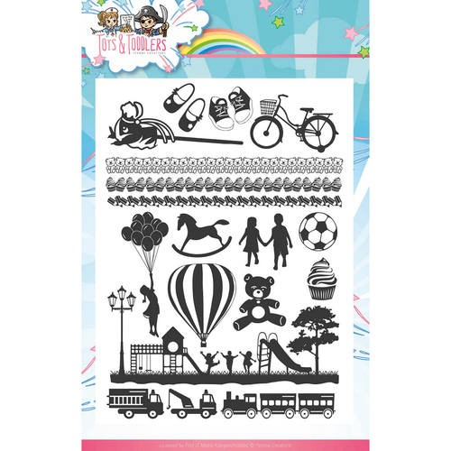 Clearstamp - Yvonne Creations - Tots and Toddlers