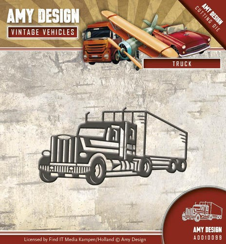 Die - Amy Design - Vintage Vehicles - Truck
