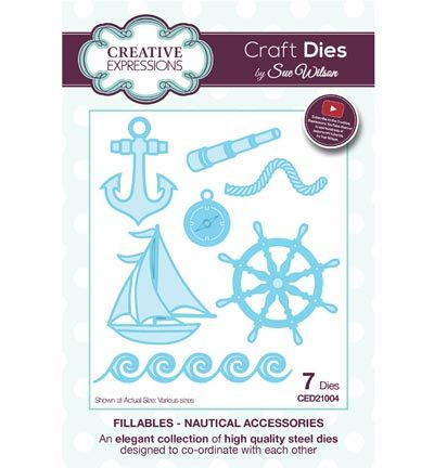 CED21004 The Fillables Collection nautical accessoires