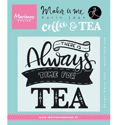 kj1707 Marianne D Stempel Quote - There is always time for tea