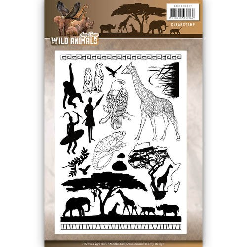 Clearstamp - Amy Design - Wild Animals