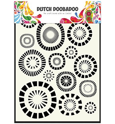 Dutch Mask Art Mask Art Mask Art Circles