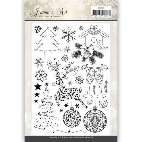 Clearstamp - Jeaninnes Art - Christmas Classics