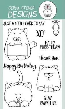 All Cats 4x6 Clear Stamp Set