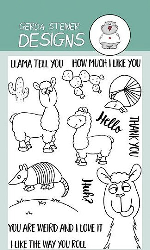 Llama Tell You 4x6 Clear Stamp Set