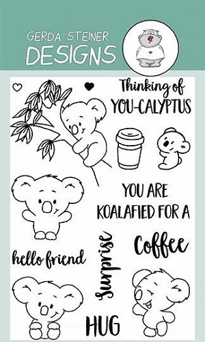 You`re Koalafied 4x6 Clear Stamp Set