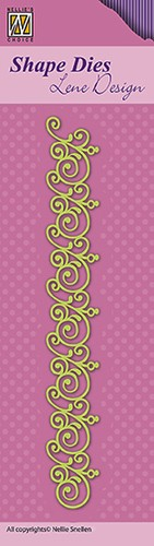 "Shape Dies Lene Design border ""swirls"""