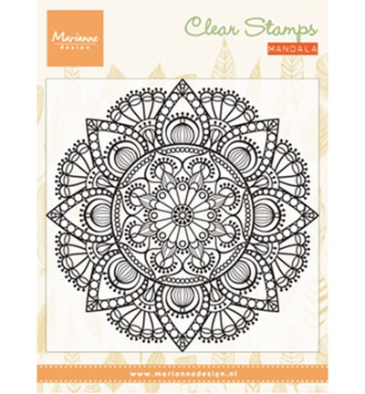 CS0988 Clearstamp Mandala