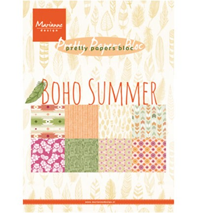 pk9148 Pretty Papers - A5 Boho Summer
