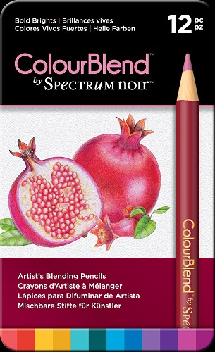 Colourblend by Spectrum Noir - Bold Brights (12pc)