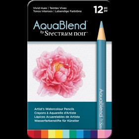 Aquablend by Spectrum Noir - Vivid Hues (12pk)
