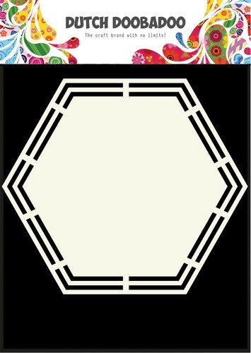 Dutch Doobadoo Dutch Shape Art Hexagon A5