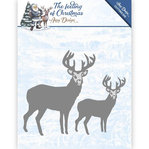 Die - Amy Design - The feeling of Christmas - Christmas reindeers