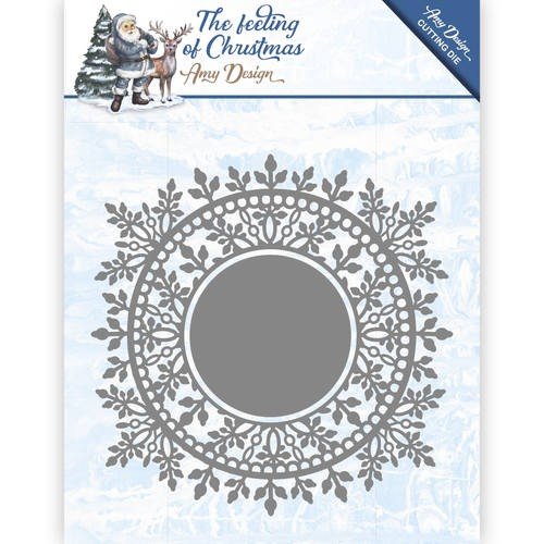 Die - Amy Design - The feeling of Christmas -  Ice crystal circle