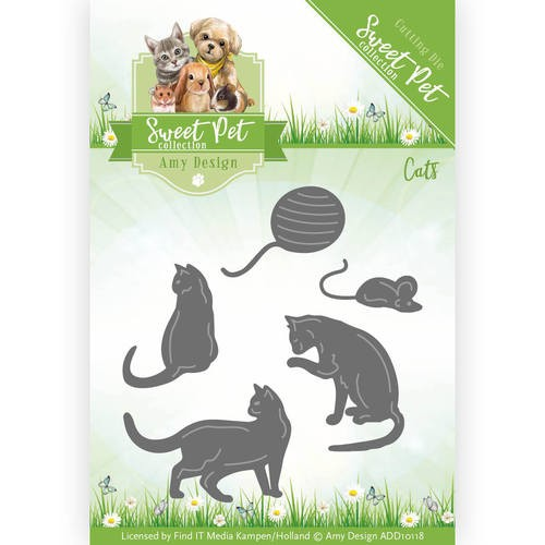 Die - Amy Design - Sweet Pet - Cats
