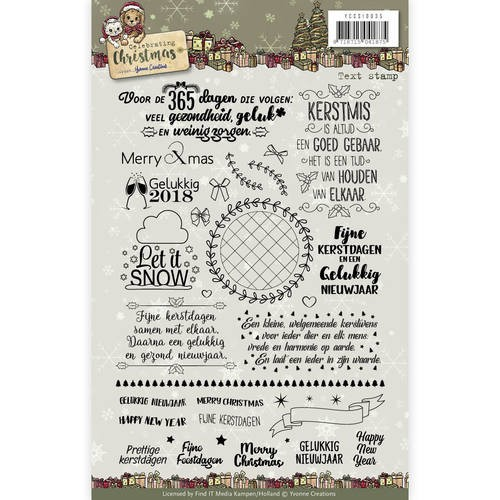 Clear Stamp - Yvonne Creations - Celebrating Christmas