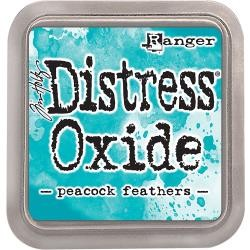 Tim holtz distress oxides peacock feathers