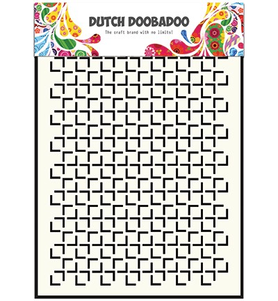Dutch Mask Art Mask Art Geomatric Square