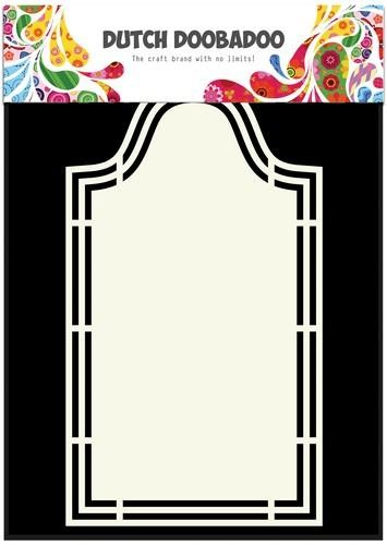 Dutch Doobadoo Dutch Shape Art label 5 A5