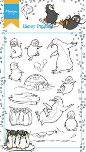 ht1628 Marianne D Stempel Hetty`s Happy Pinguins