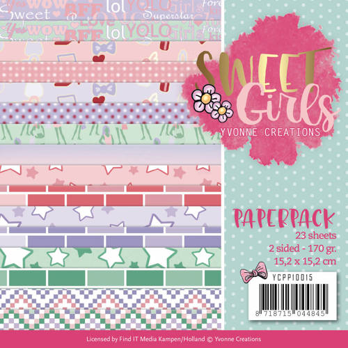 Paperpack - Yvonne Creations - Sweet Girls