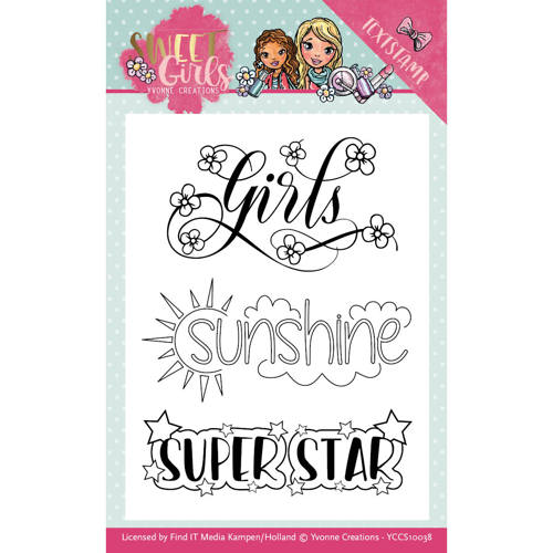 Clearstamp - Yvonne Creations - Sweet Girls