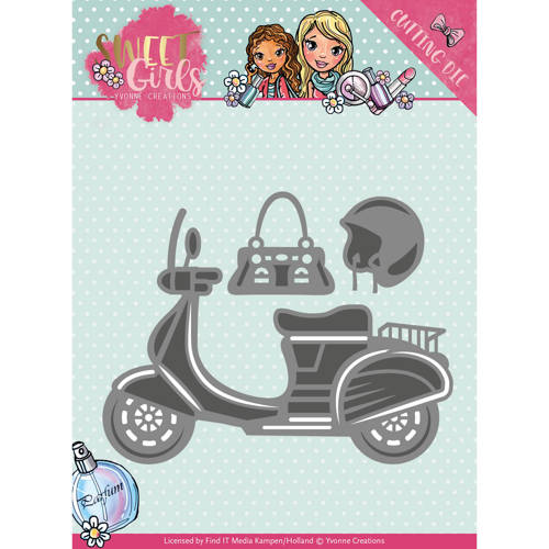 Die - Yvonne Creations - Sweet Girls - Scooter