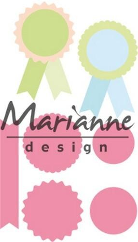 col1444 Marianne D Collectable Rosettes & labels
