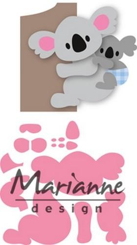 col1448 Marianne D Collectable Eline`s koala & baby