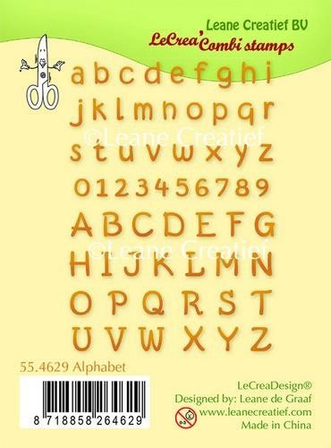 LeCrea - Clear stamp Alphabet & numbers