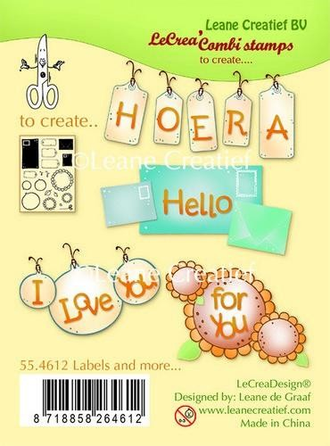 LeCrea - Clear stamp Labels and more