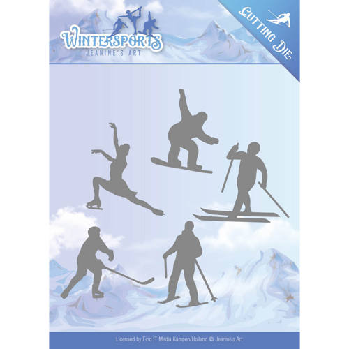 Die - Jeanine`s Art - Wintersports - Winter Sporting