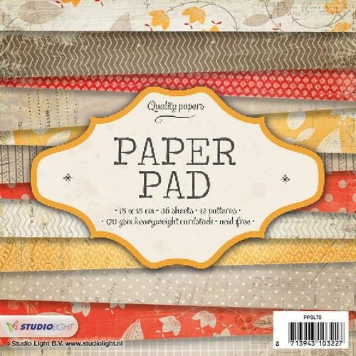 Studio Light Paper pad 36 vel 12 designs nr 70
